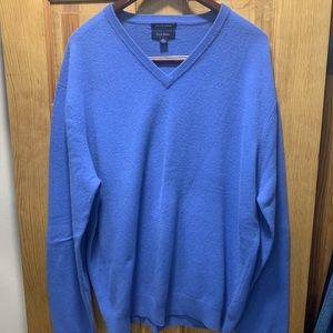 Club Room Cashmere Lightweight V-Neck Sweater